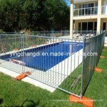 Clôture de piscine temporaire en gros