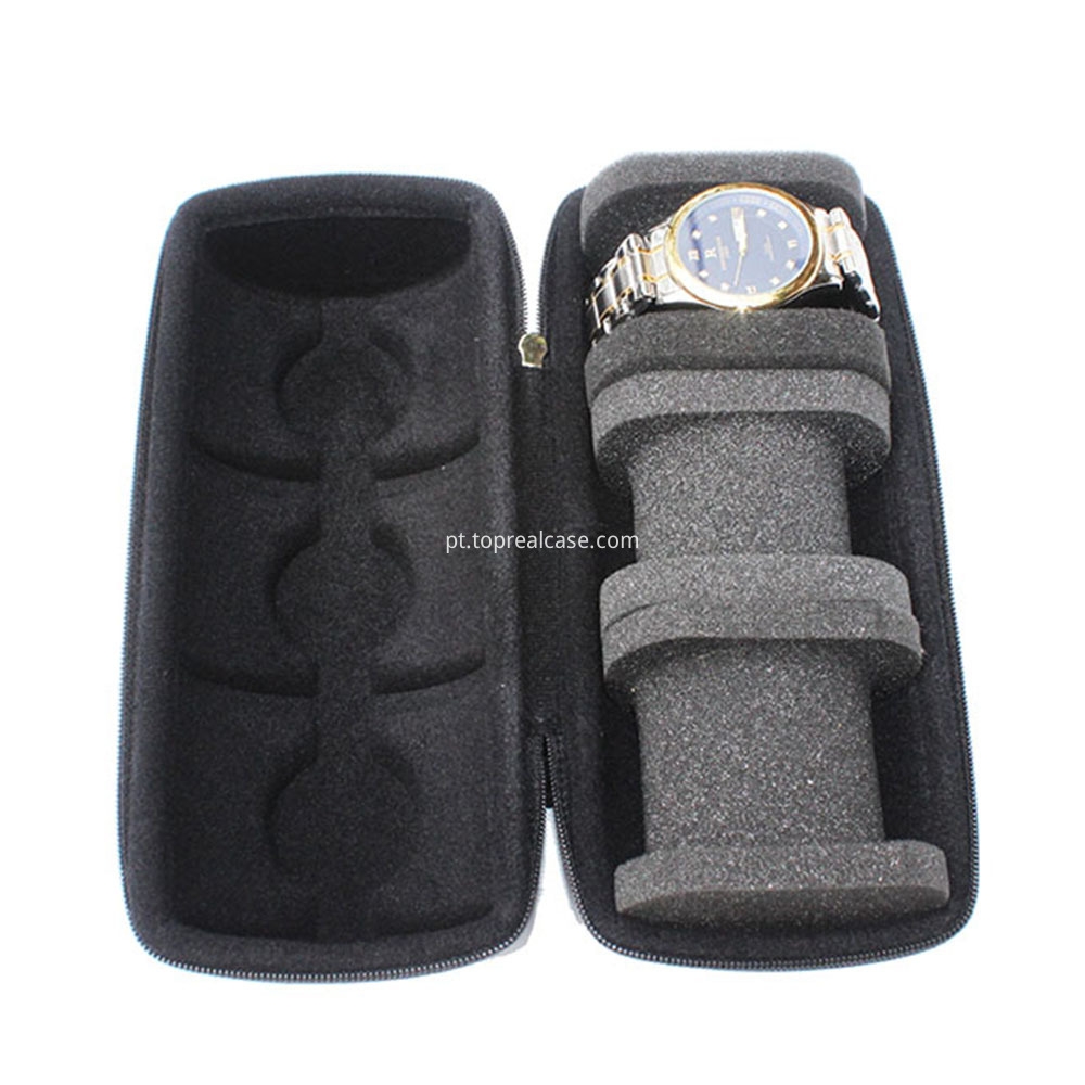 Storage case for 3 watches