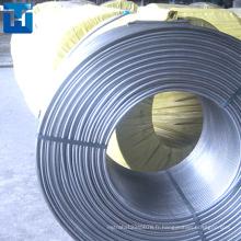 13mm CaSi fourré fil / Aluminium fourré fil alliage alliage fabricant de porcelaine