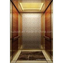 Hochwertiger und eleganter Aufzug mit Holzdekoration