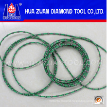 China Wire Rope Manufacturers Selling Diamond Wire Saw for Granite Marble Profiling