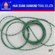 Китайский производитель канатов, продающих алмазную проволочную пилу для профилирования гранитного мрамора