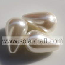 Wholesale Acrylic Imitation pearls watherdrop shape beads