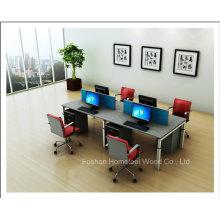 Partição da estação de trabalho moderna do Office 4 Popular Popular (HF-YZQ319)