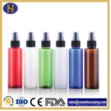 Garrafa Pet plástico Mist Spray frasco cosmético frasco de 100ml, loção bomba de embalagens de cosméticos