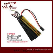 Firefox 11.1V 1200mAh Lipo Li-Po batería táctico Li-Polymer 12 c