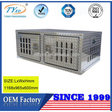 custom aluminium truck dog crate