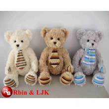 OEM soft ICTI plush toy factory plush bear toy
