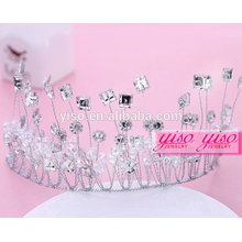 bridal wedding crystal fashion fbirthday crown for adults crown