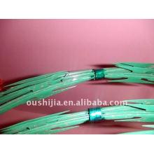 PVC beschichtete Rasiermesser Stacheldraht (Fabrik)