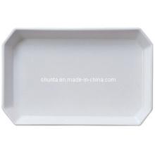 Melaimine 100% vaisselle - vaisselle de première classe de plateau (WT915)