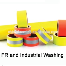 Discount Price Pet Film for Aramid Flame Reflective Orange Warning Tape Cotton Flame Retardant Yellow Warning Tape supply to Niue Exporter
