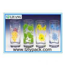 Flower Print Adhesive Film for Glass