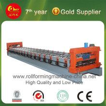 Máquina de formação de rolo de painel de telhado de aço hidráulico (HKY)