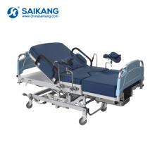 A98NE Tableau de lit de livraison gynécologique ordinaire électrique