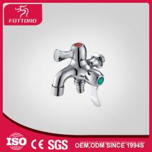Brass washing machine double taps MK12410