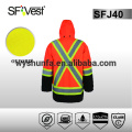 hi vis jacket reflective safety jacket 3m reflective safety jacket winter safety jacket work jacket CSA Z96-09