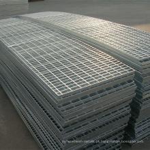 Metal Materiais de Construção Hot Dipped Galvanized Steel Grating