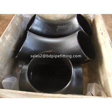 Seamless Carbon Steel Pipe Fittings 90 Degree Elbow