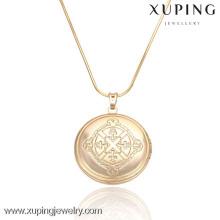 32276 latest design saudi gold jewelry 18k gold plated islamic pendant