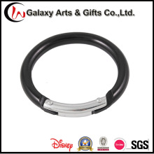 2 pulgadas negro pequeño mosquetón redondo Zinc Metal/aleación/aluminio