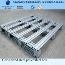 1210 Palet de acero galvanizado en rack aprobado por CE