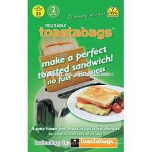 Reutilizable Toaster Bag, apto para tostadoras, hornos - antiadherente, sin desorden