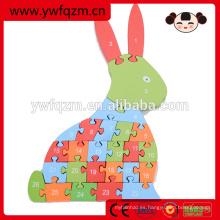 Diseño simple de la marca FQ interesante Buen plano de la calidad del conejo de madera del avión