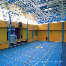Roll Indoor PVC Sports Floor /Basketball Floor/Mat Fiba Certificate Wooden Surface