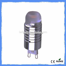 New cars mini silicon AC 110V or 230 3000K 2W G9 LED 10W
