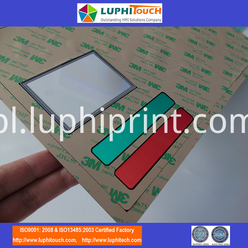 Glossy Surface ESD SHielding Tactile Membrane Switch