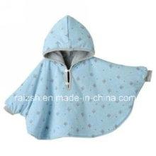 Polar Fleece Baby Poncho / cobertor com capa