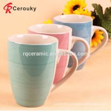 Taza de cerámica barata de calidad superior de la leche del regalo