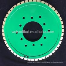 rueda de unión de resina Rueda de rectificación de diamante sinterizada / abrasiva