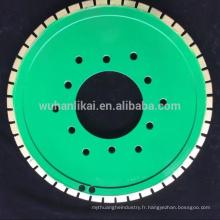 roue de liaison de résine meule frittée de diamant / abrasif