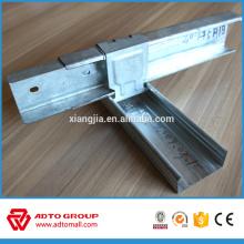 Dry Wall Partition System Espárrago de metal