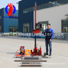 QZ-3 diesel engine sampling drilling rig  portable multi-purpose drilling rig
