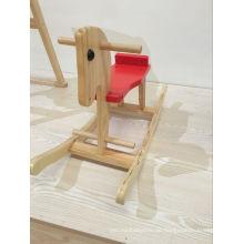 2016 New Style Baby Wooden Pferd Reiten auf Pferd
