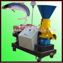flat-die fish feed pellet mill with high efficiency