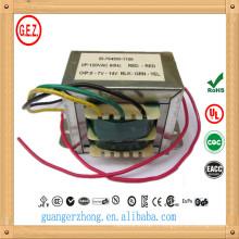 CE UL CQC certification 230 v ac 12 dc transformateur
