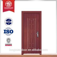 Neue Design Guangzhou Tür PVC Venner Tür Design Holz Zimmer Tür