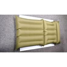 Colchão inflável da cama de água Revestimento da tela do PVC com caixa de cor W01