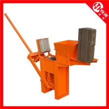 Qm1-40 Manuelle Lehm-Verriegelungs-Ziegelsteinmaschine