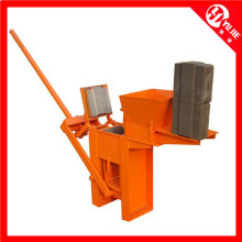 Qm1-40 Manual Clay Interlocking Brick Making Machine