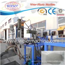 Máquina dobro da peletização do filme plástico do HDPE do PE dos PP das etapas do dobro da saída 300kgs