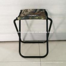 Портативный рыбалка стул мини металлический стул