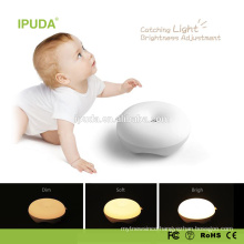 2017 new led lamps IPUDA mini led night light with zero touch dimmable control rechargeable battery