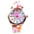 New Arrival Girls Silicone Quartz Wristwatch