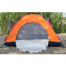 Tente imperméable de camping en plein air de tente de double plein automatique de couleur de combat