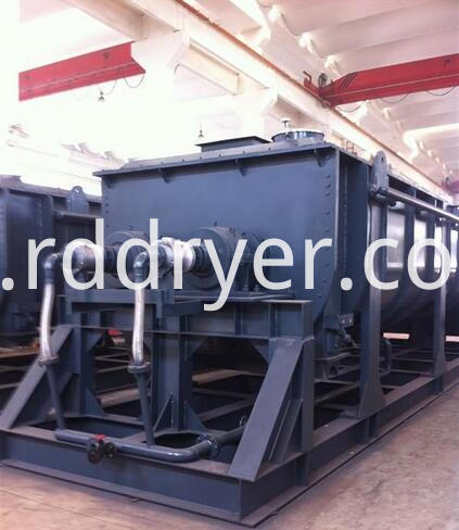 Calcium Carbonate Hollow Paddle Dryer